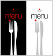 Stylish Restaurant Menu Cards Design template