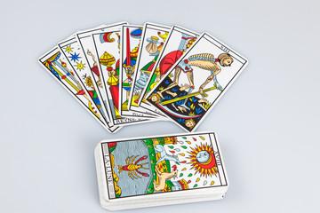 Tarot cards (5).