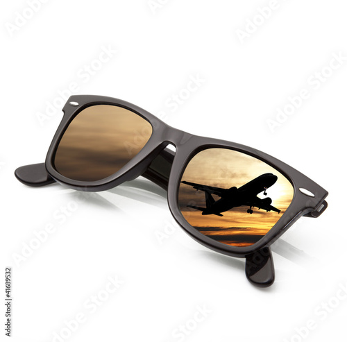 occhiali aereoplano
