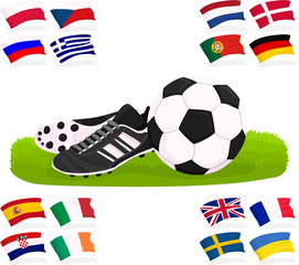 Set of a football accessories C