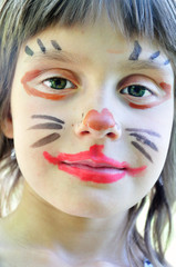 face painting mask child