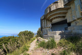 Liguria, Italy - ww2 fortification over the sea