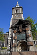St. Botolph's Aldgate Church & Water Pump in London