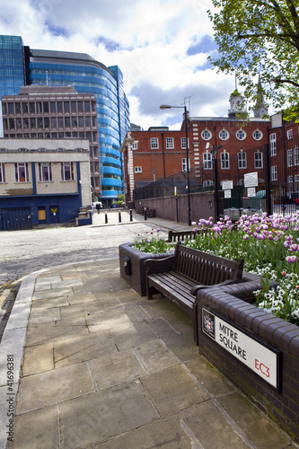 Mitre Square in London