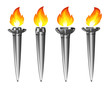 Set of torches