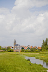 Dorf in Holland