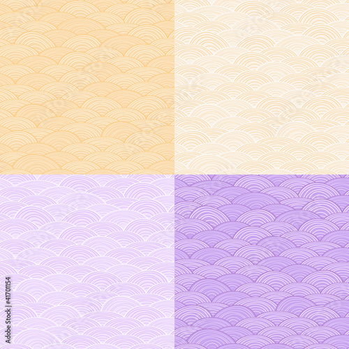 Pale One Color Abstract Seamless Pattern