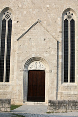 Portal of the Cathedral in Venzone