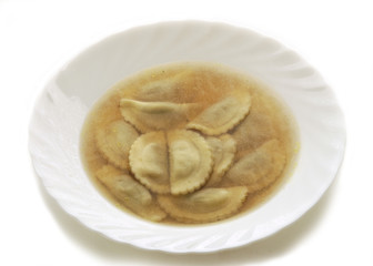 Pansotti in brodo