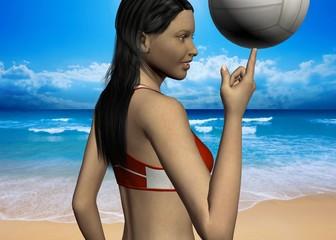 BEACH VOLLEY - 3D
