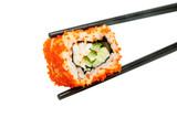 Fototapete Sushi - Isoliert - Fische