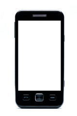 Classic Mobile phone on a white background