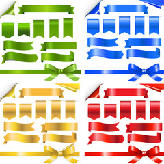 Color Ribbons Set