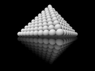 Pyramid Sphere, Piramide de Esferas
