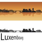 Fototapety Luxembourg skyline