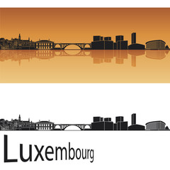 Luxembourg skyline
