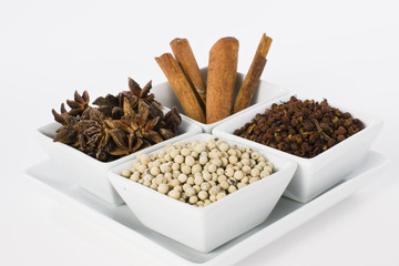 Selection of Oriental Spices