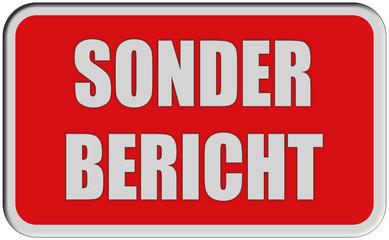 Sticker rot eckig rel SONDER BERICHT