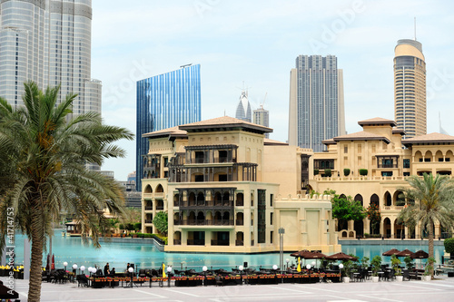 Dubai. Downtown and Palace Hotel