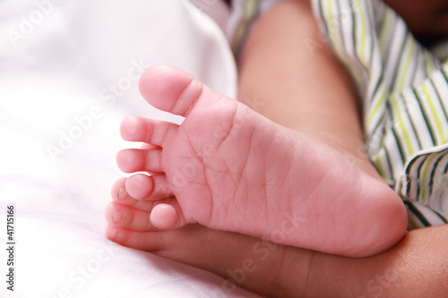 Beautiful baby feet