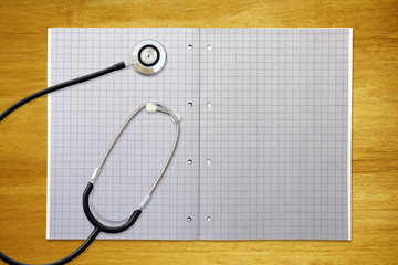 stethoscope graph paper