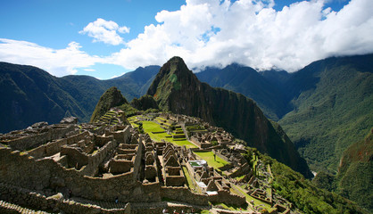 Machu Picchu Top View