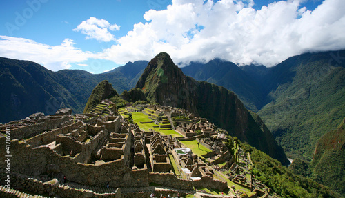 Canvas Bedehuis Machu Picchu Top View