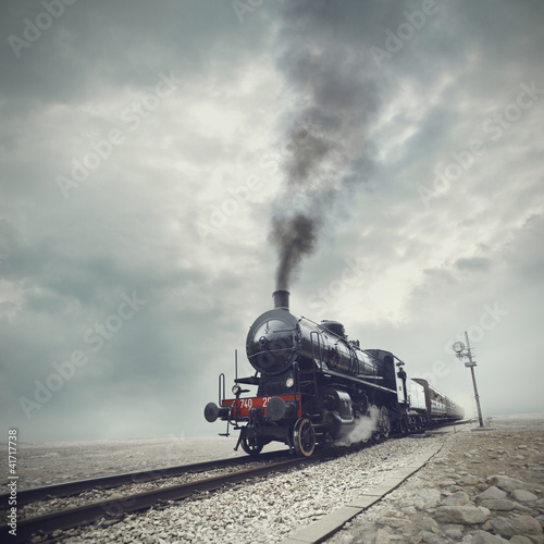 black train - 41717738