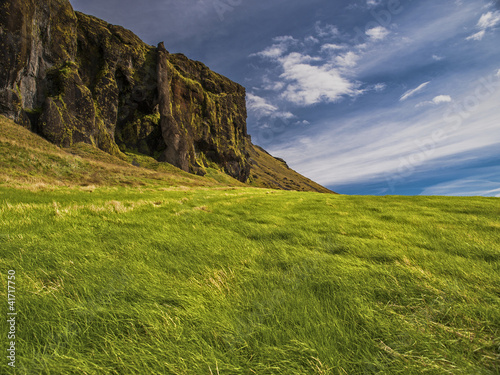 Meadow and Rock