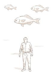 pesci che volano