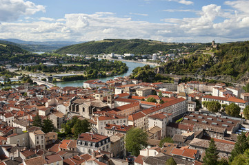 Vienne France and Rhone River