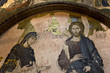 Deesis Mosaic in Chora (Kariye) Church, Istanbul, Turkey