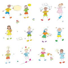 happy learning kids