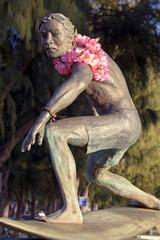 Duke Kahanamoku Surfing Statue