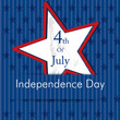 Happy Independence Day 4th of July .