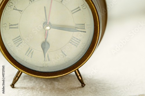 Antique clock alarm