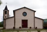 Church of Santa Chiara in Castropignano river Biferno