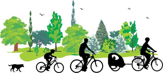 CYCLISME EN FAMILLE