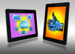 Two tablets pc
