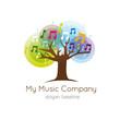 logo-music-tree, logo musique