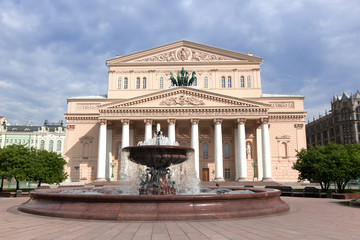 Grand Theatre in Moscow, Russia