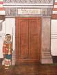 Mural painting in Thai royal temple, Ramayana