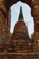 Ancient Pagoda in Ayutthaya, Thailand