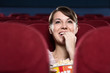 Woman at the cinema