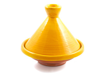 Yellow tajine