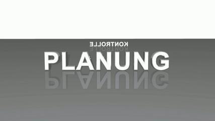 Text Rotation - Analyse Planung Durchführung Kontrolle Grau 2
