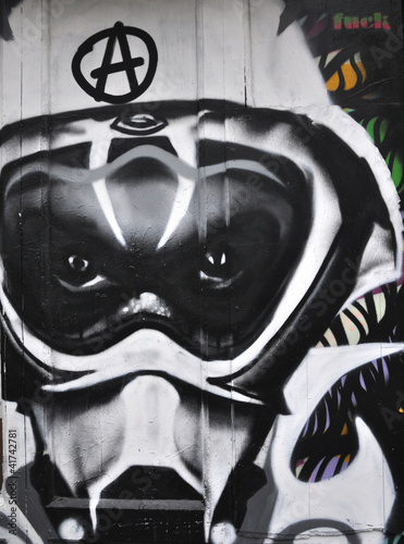 Fototapeten,street art,preisschild,künstlerische darstellung,schablone