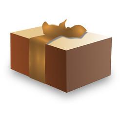 cadeau carton or