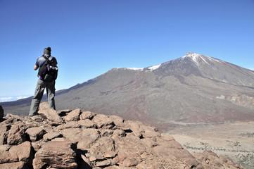 Mirando al Teide