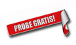 Band Sticker rot rore II PROBE GRATIS